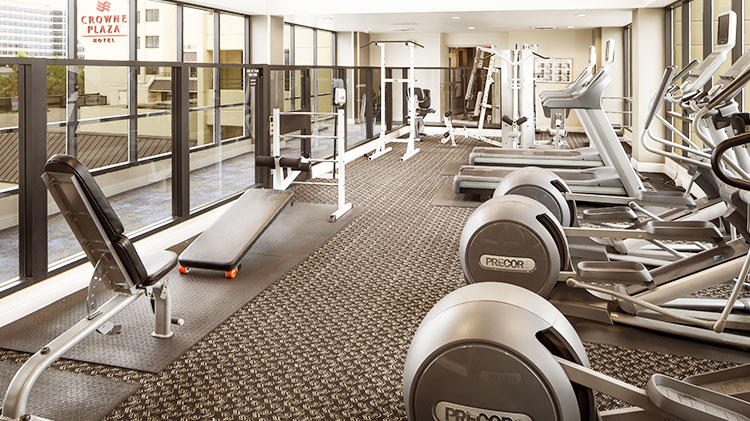 Fitness Center at Crowne Plaza - Foster City Hotel, California