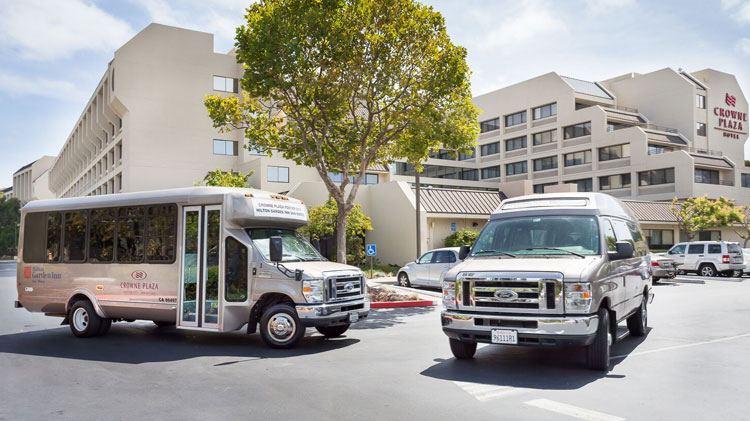 Free SFO Airport Shuttle at Crowne Plaza - Foster City Hotel, California