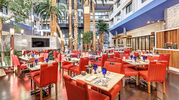 Crowne Plaza - Foster City Hotel, California Café Florian