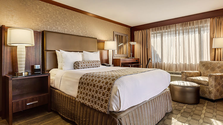 King Guestrooms at Crowne Plaza - Foster City Hotel, California