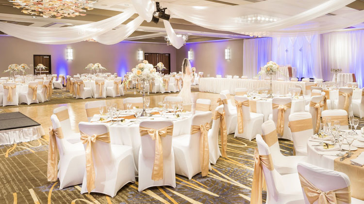 Magellan Ballroom at Crowne Plaza - Foster City Hotel, California
