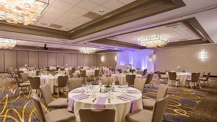 Magellan Ballroom at Crowne Plaza - Foster City Hotel, California