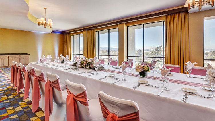 The Lily Of The Valley Buffet Wedding Package at Crowne Plaza - Foster City Hotel, California