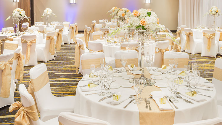 Wedding Inspiration at Crowne Plaza - Foster City Hotel, California
