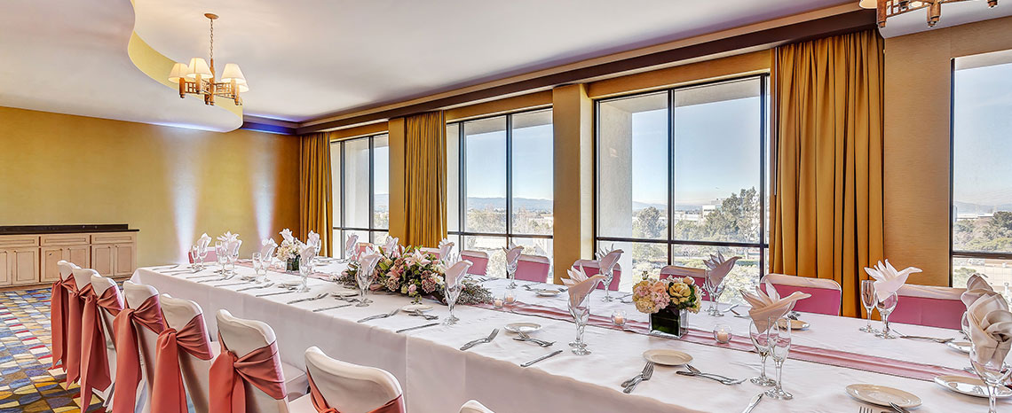 Crowne Plaza - Foster City Hotel Wedding RFP